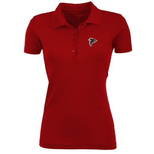 Antigua Women's Atlanta Falcons Pique Xtra-Lite Polo Shirt