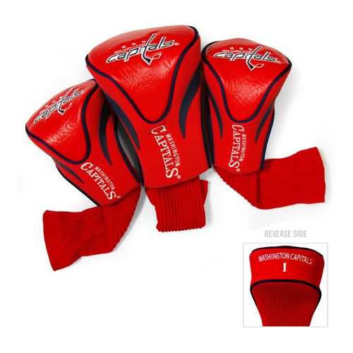 Team Golf Washington Capitals Contour Sock Head Covers 3-Pack