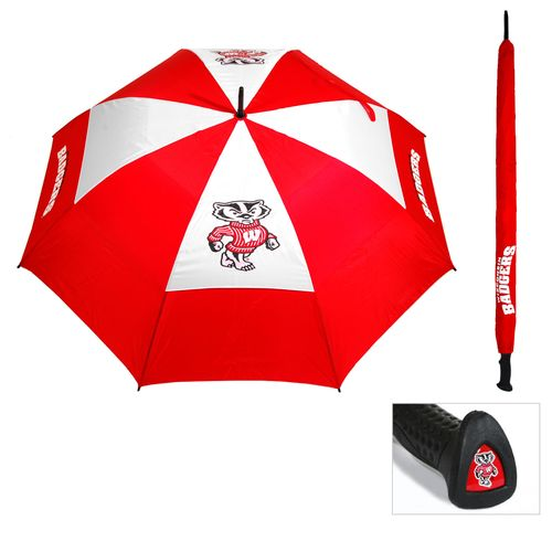 Display product reviews for Team Golf Adults' University of Wisconsin Umbrella