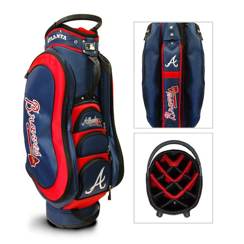 Team Golf Atlanta Braves Medalist 14-Way Cart Golf