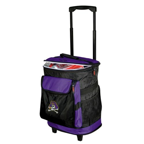 Logo™ East Carolina University 48-Can Rolling Cooler - view number 1