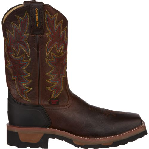 Tony Lama Men's Bark Badger TLX Composition-Toe Western Work Boots