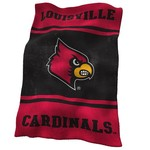Logo University of Louisville Ultrasoft Blanket