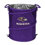 Logo™ Baltimore Ravens Collapsible 3-in-1 Cooler/Hamper/Wastebasket