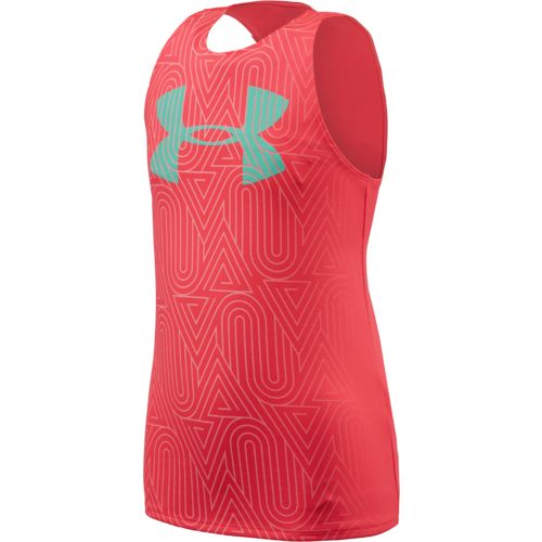 Under Armour™ Girls' Run Big Logo Tank Top