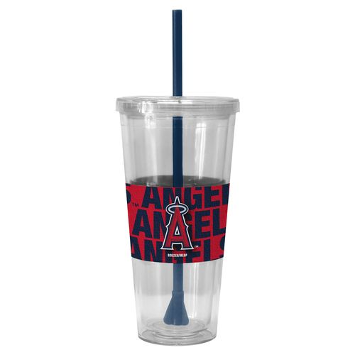 Boelter Brands Los Angeles Angels of Anaheim Bold Neo 22 oz. Straw Tumblers 2-Pack