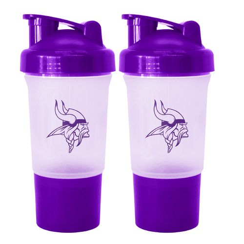 Boelter Brands Minnesota Vikings 16 oz. Protein Shakers 2-Pack