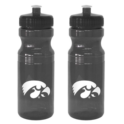 Boelter Brands University of Iowa 24 oz. Squeeze Water Bottles 2-Pack