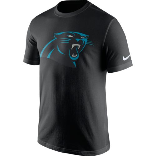Nike Men's Carolina Panthers Cotton Essential Logo T-shirt