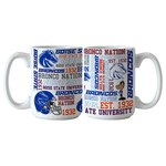Boelter Brands Boise State University Spirit 15 oz. Coffee Mugs 2-Pack - view number 1