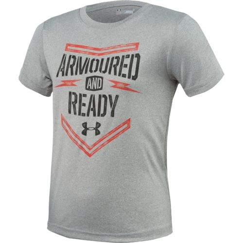 Under Armour Kids 39 Armoured And Ready T Shirt Academy