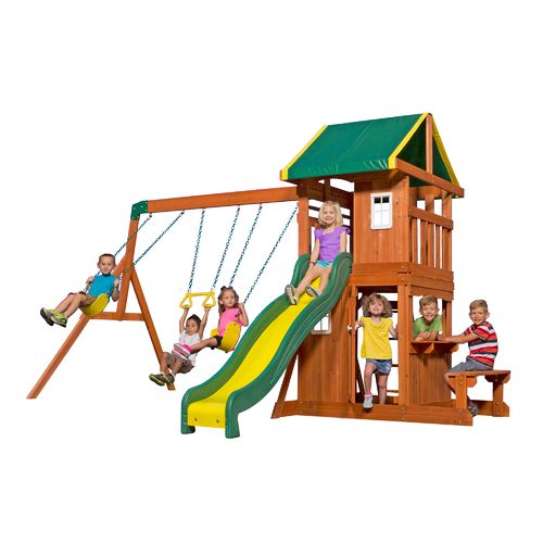 Backyard Discovery™ Wooden Swing Set