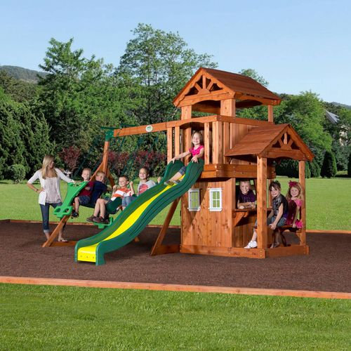 Backyard Discovery™ Tanglewood Wooden Swing Set - view number 2