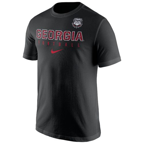 Nike™ Men's University of Georgia Short Sleeve Practice T-shirt