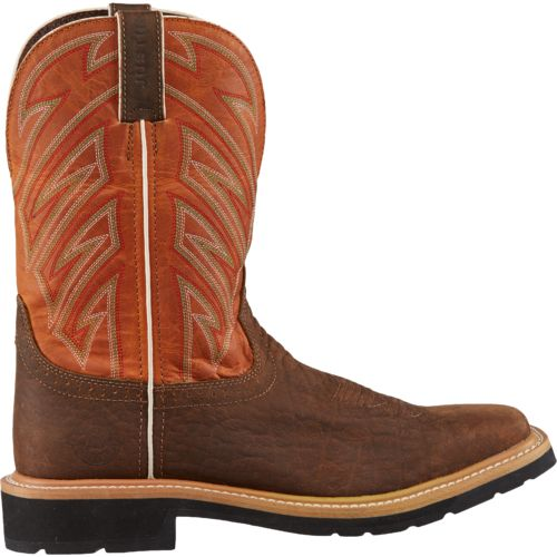 Display product reviews for Justin Men's Stampede™ Square Toe Work Boots