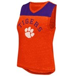 Colosseum Athletics Women's Clemson University Kiss Cam Tank Top