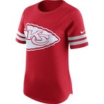 Nike Women's Kansas City Chiefs Gear Up Modern Fan Top