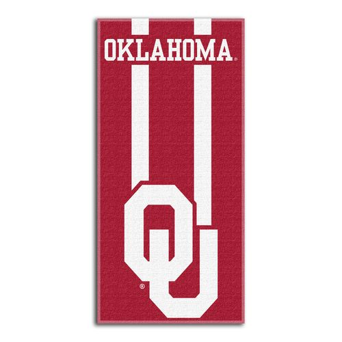 The Northwest Company University of Oklahoma Zone Read Beach Towel