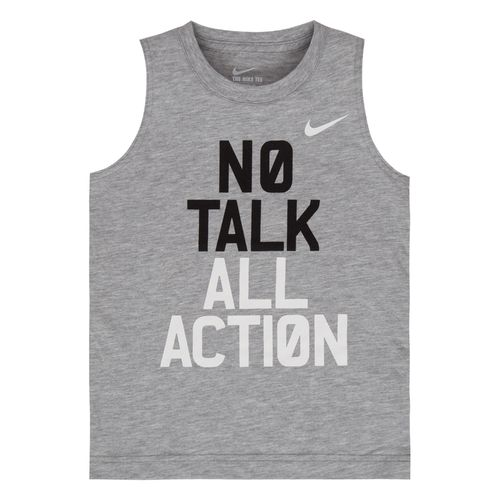 Nike Boys' No Talk Muscle Tank Top