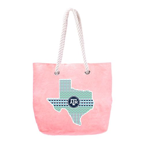 The Honour Society Women's Texas A&M University Rope Tote Bag