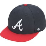 '47 Kids' Atlanta Braves Lil Shot 2-Tone Captain Cap