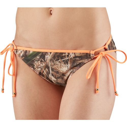 Realtree Juniors' Max-5® Tie Side Hipster Pant Swim Bottom