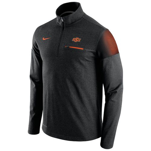 Nike™ Men's Oklahoma State University Coaches 1/2 Zip Jacket