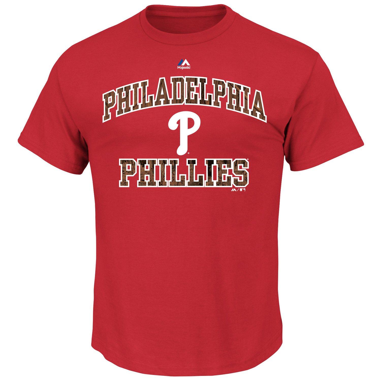 Majestic Men's Philadelphia Phillies Inside the Box T-shirt