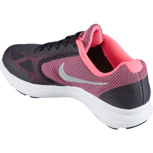 Nike Girls' Revolution 3 Running Shoes - view number 3