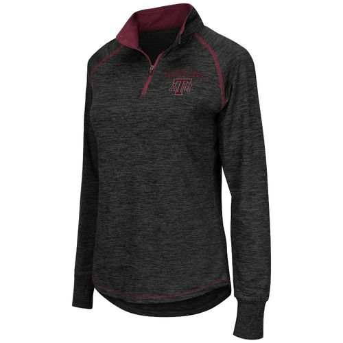 Colosseum Athletics™ Women's Texas A&M University Bikram 1/4 Zip Pullover