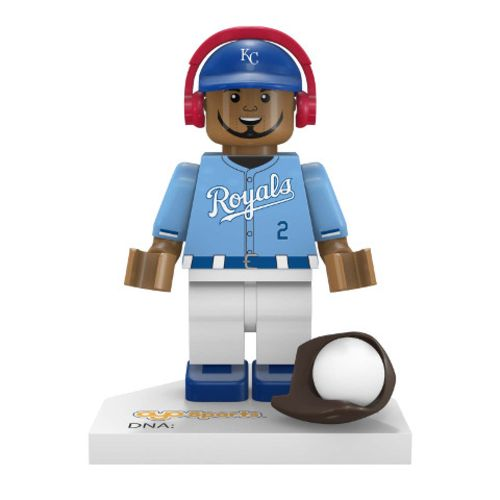 OYO Sports Kansas City Royals Alcides Escobar #2 Minifigure