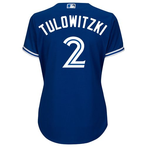 Majestic Women's Toronto Blue Jays Troy Tulowitzki #2 Cool Base Replica Jersey