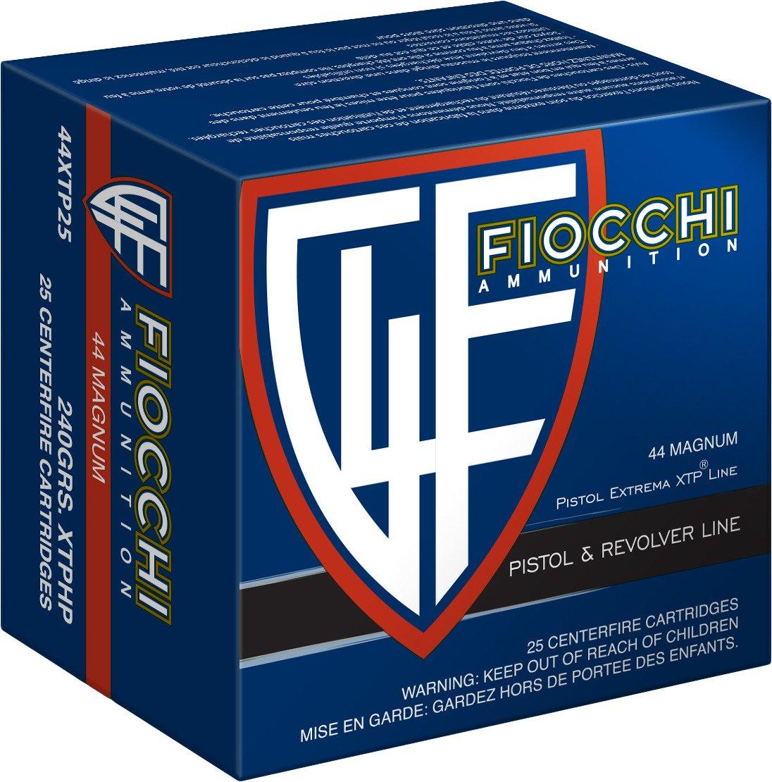 Fiocchi Extrema XTP Hollow-Point Centerfire Handgun Ammunition