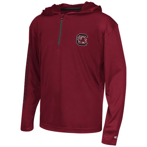 Colosseum Athletics™ Boys' University of South Carolina Sleet 1/4 Zip Hoodie Windshirt