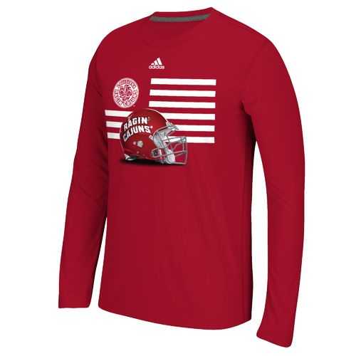 adidas™ Men's University of Louisiana at Lafayette Prevent Defense T-shirt