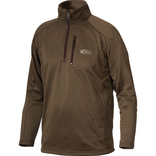 Display product reviews for Drake Waterfowl Men's Breathelite 1/4 Zip Fleece Pullover