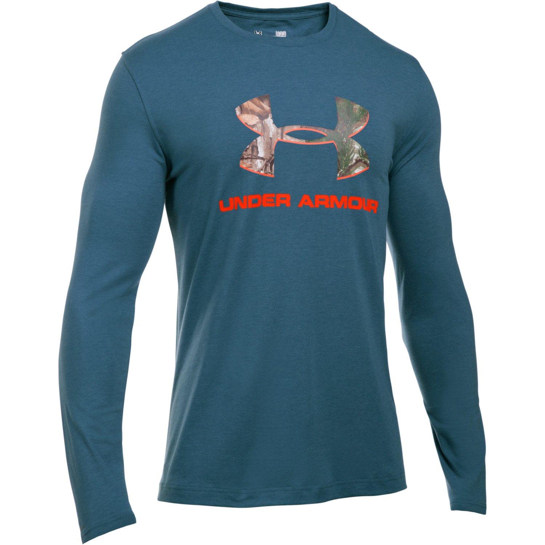 Under Armour™ Men's Camo Fill Logo Long Sleeve