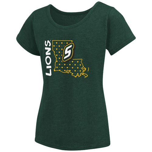Colosseum Athletics Girls' Southeastern Louisiana University T-shirt
