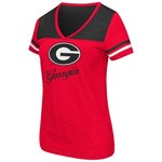 Colosseum Athletics™ Women's University of Georgia Rhinestone Short Sleeve T-shirt