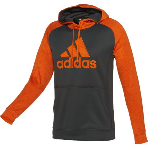 adidas™ Men's Team Issue Appliqué Fleece Pullover Hoodie