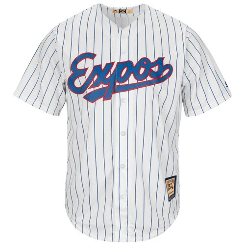 Majestic Men's Montreal Expos Cooperstown Cool Base Replica