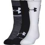 Under Armour® Kids' Next Statement 2.0 Crew Socks 3-Pair