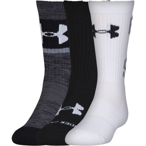 Under Armour™ Kids' Next Statement 2.0 Crew Socks 3-Pair