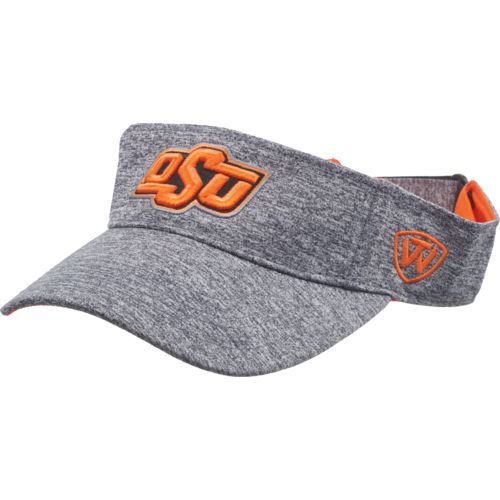Top of the World Men's Oklahoma State University Steam Visor