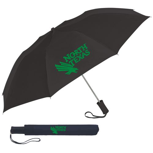 "Storm Duds Adults' University of North Texas 42"" Automatic Folding Umbrella"