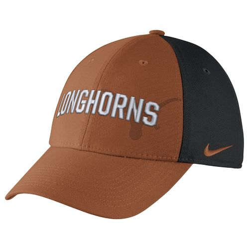 Nike™ Men's University of Texas Classic Wordmark Swoosh Flex Cap