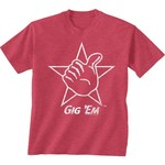 New World Graphics Men's Texas A&M University Alt Graphic T-shirt