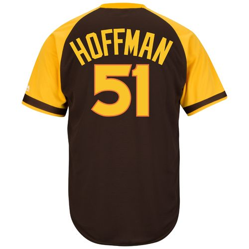 Majestic Men's San Diego Padres Trevor Hoffman #51 Cool Base Cooperstown Jersey