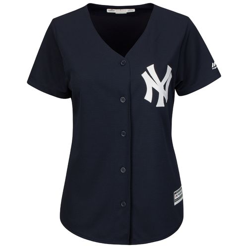 Majestic Women's New York Yankees Didi Gregorius #18 Authentic Cool Base Fashion Jersey - view number 3