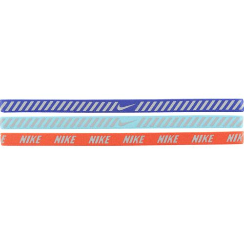 Nike Women's Printed Hazard Strip Headbands 3-Pack
